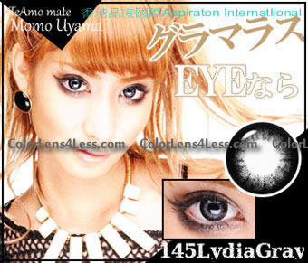 TeAmo Lydia Grey Colored Contacts (PAIR)