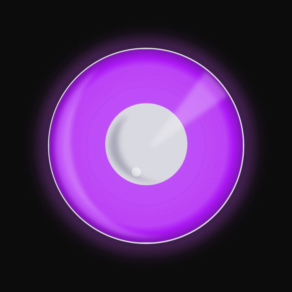 CREATE UV Disco Lens - Violet