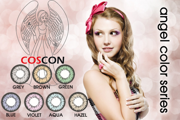 ANGEL COLOR COLORED CONTACTS (7 PAIRS)