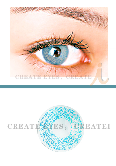 Aqua 1 Color Contact Lens (Pair)