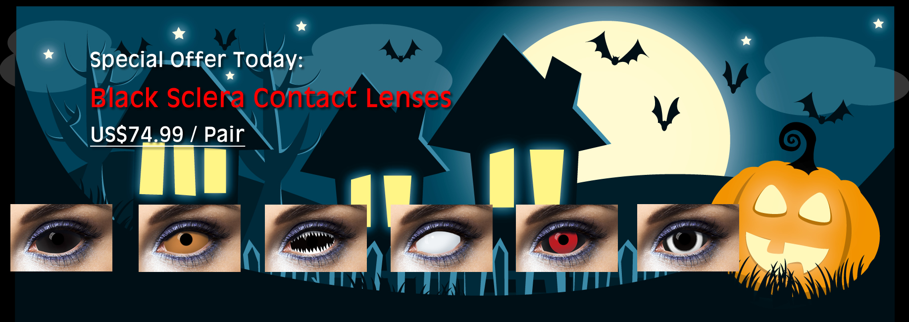 2015 Sclera Contacts