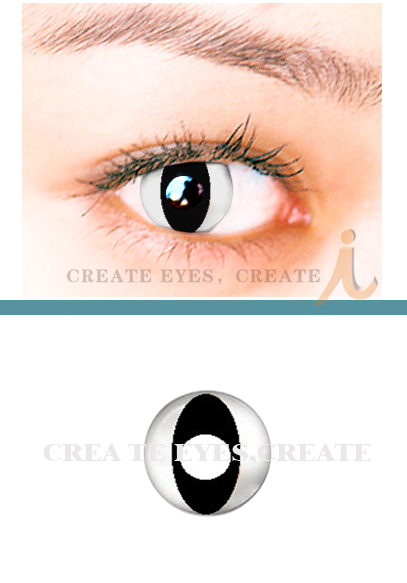 Black Cat Crazy Contact Lens (pair)