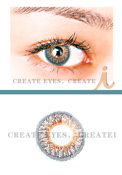 Brown 3 Color Contact Lens (Pair)