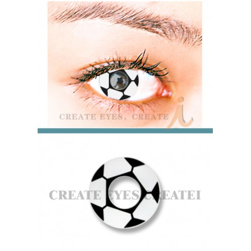 Football Crazy Contact Lens(PAIR)