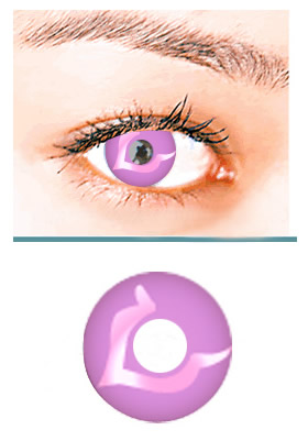 Geass Code Crazy Contact Lens (pair)