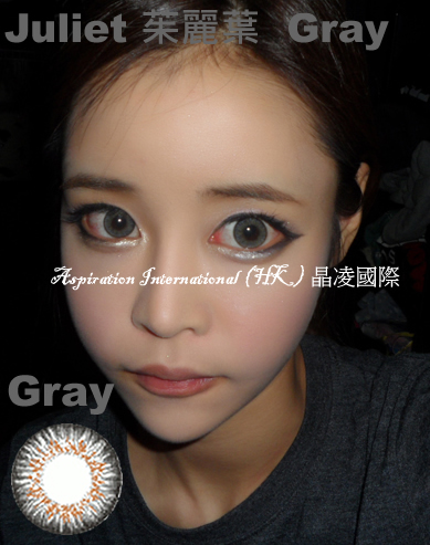 MI Juliet Grey Colored Contacts (Pair)