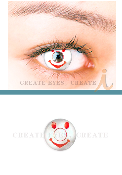 Smiling Crazy Contact Lens(PAIR)