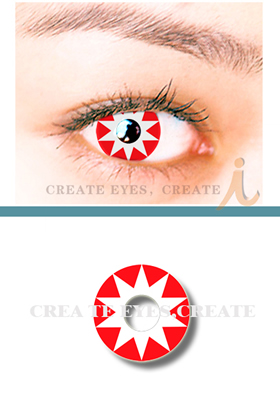 Star Fire Crazy Contact Lens(PAIR)