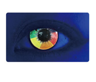 UV Rainbow Crazy Contact Lenses (PAIR)