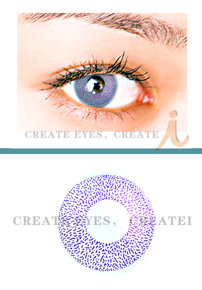 Violet 1 Color Contact Lens (Pair)