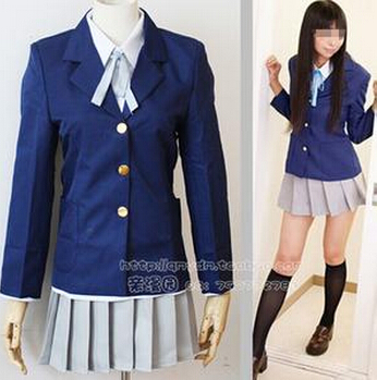 K-ON! School Girl Uniform Cosplay Costume