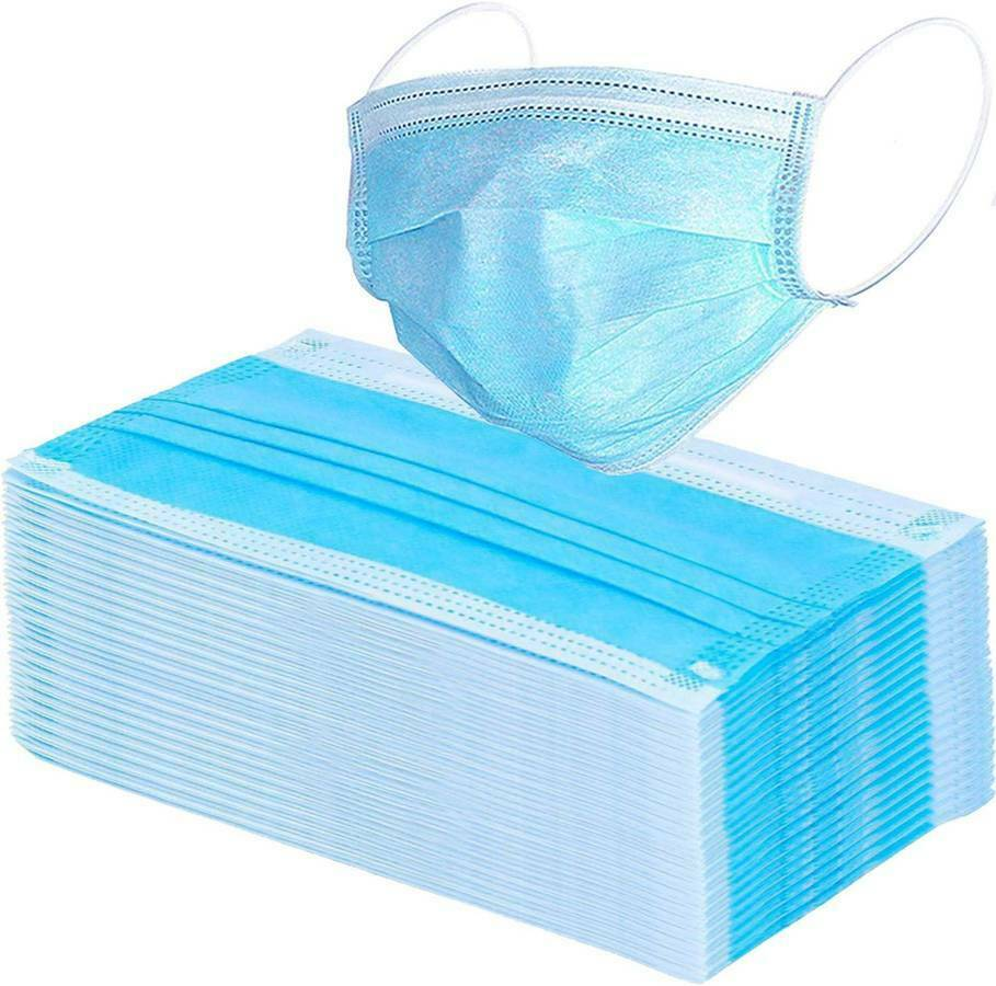Disposable 3-Ply Medical Surgical Face Mask 50 PCS