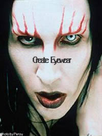 Marilyn Manson Contacts Lenses (PAIR)