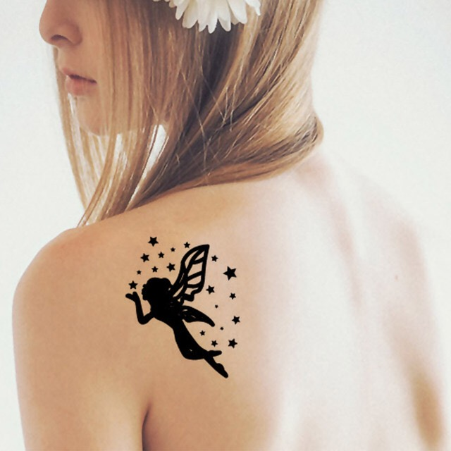 ANGEL WATERPROOF TEMPORARY TATTOO STICKER HM514