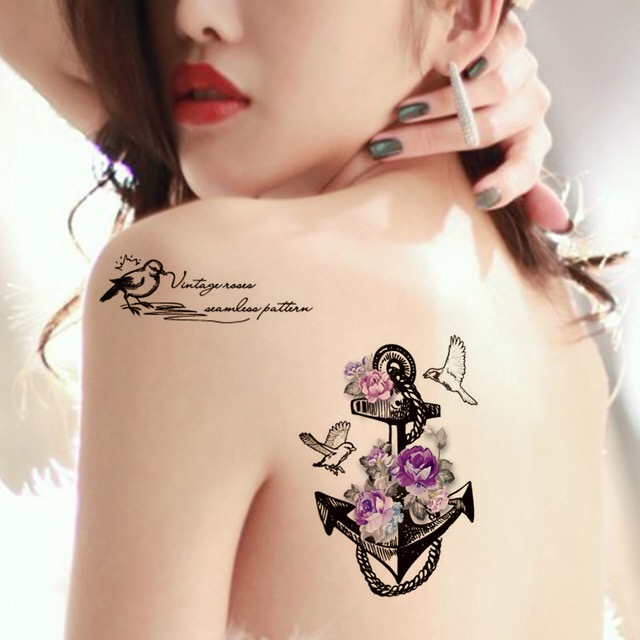 PIGON WATERPROOF TEMPORARY TATTOO STICKER HM736