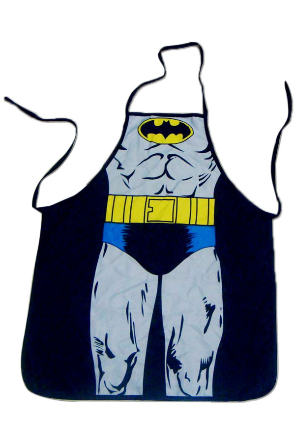 Novelty Batman Print Cooking Apron