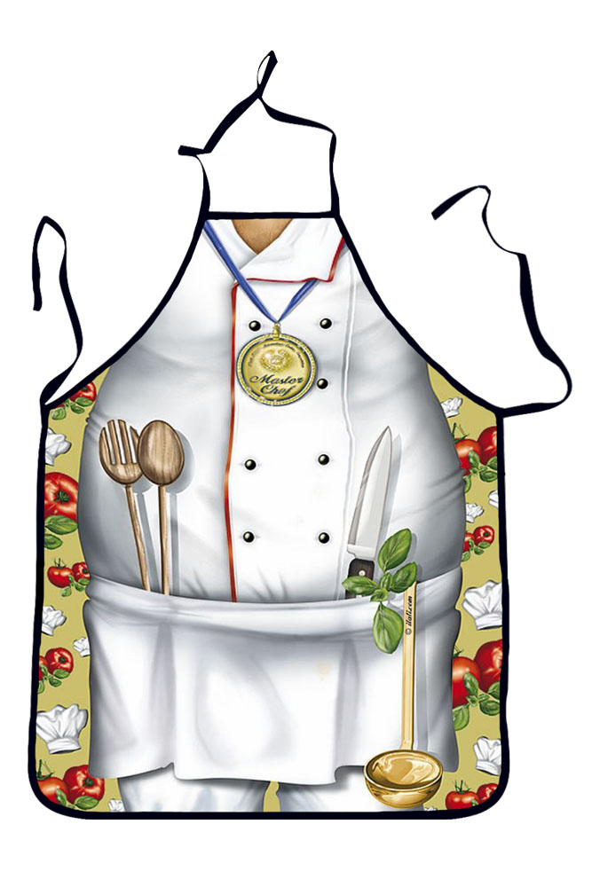 Masterchef Mens Funny Cooking Apron