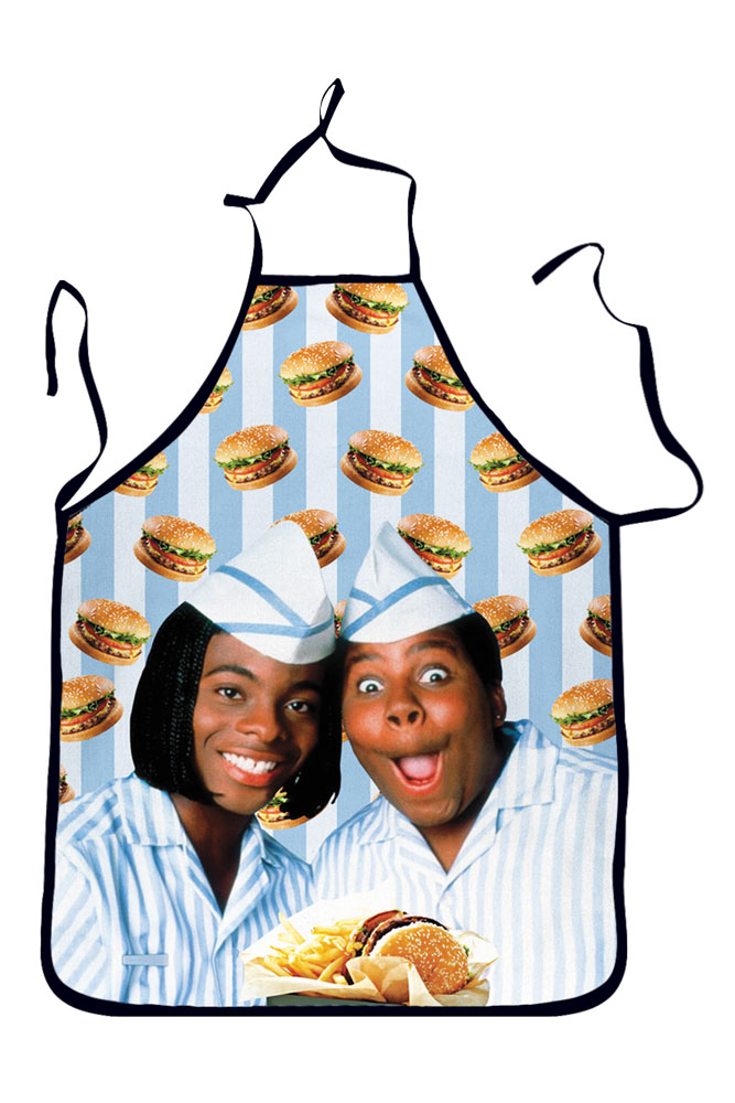Make Hamburger Theme Print Workwear Night Party Aprons
