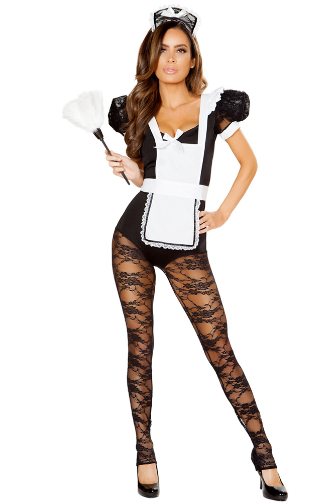 Sexy Party Parlor Maid Hottie Costume