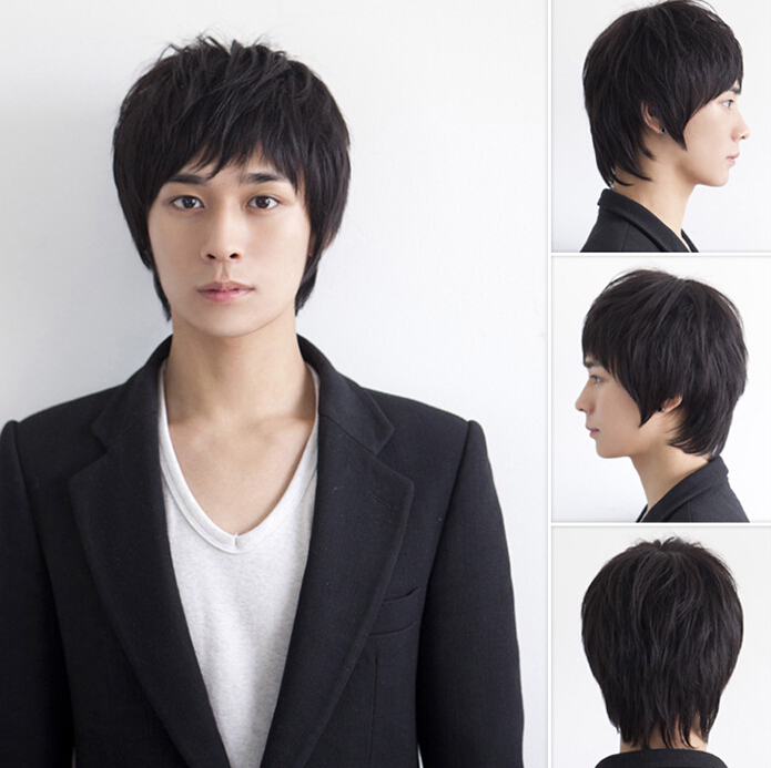 Short Wigs for Man NF-7