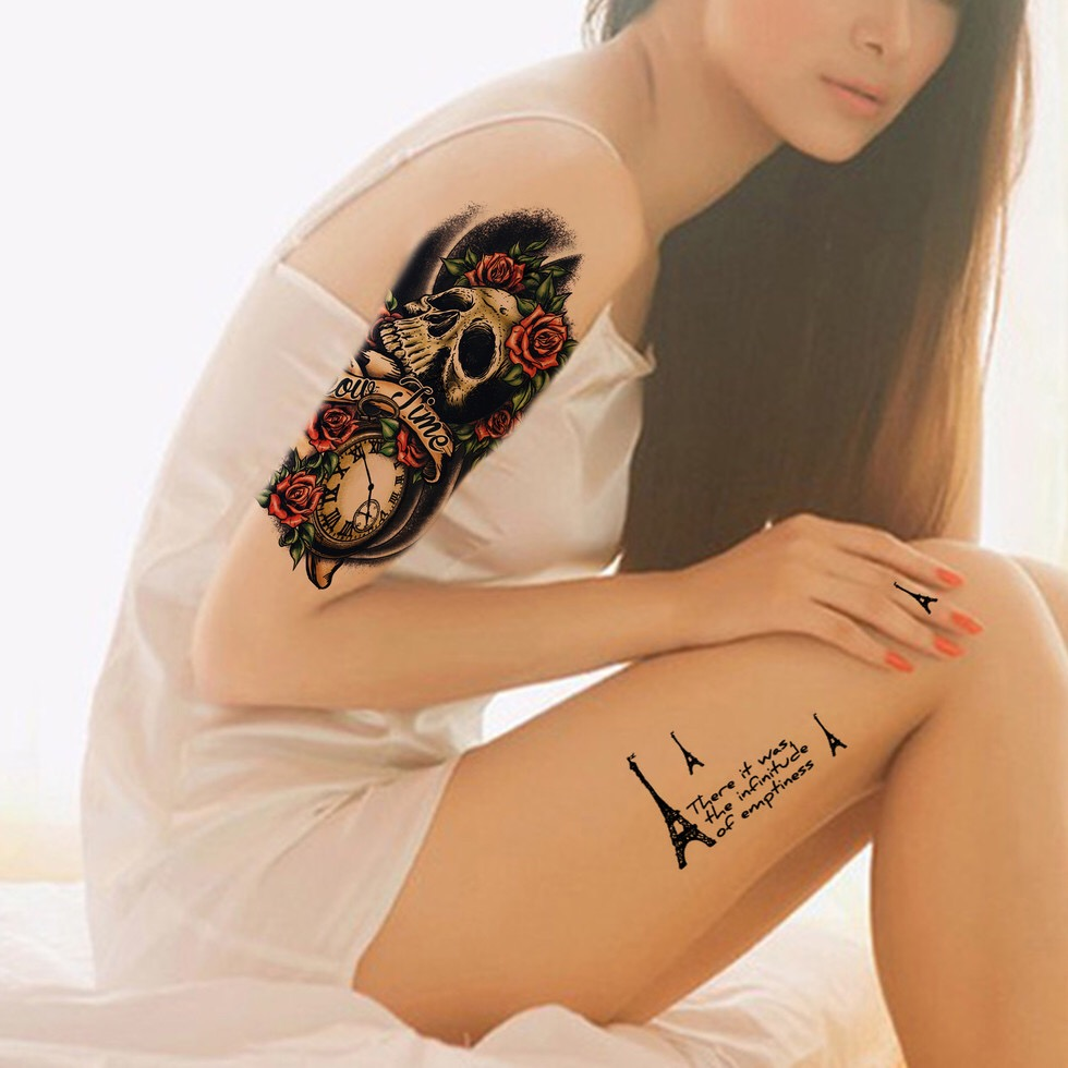 Body Tattoo Sticker Waterproof Temporary Tattoo RT09