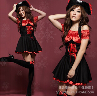 Pretty Girl Pirate Cosplay Costume
