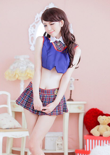 Sexy asian school uniform confirm