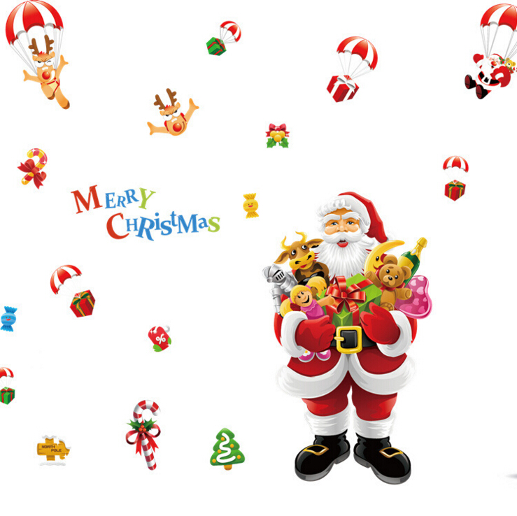 Christmas Window Decoration Wall Sticker B