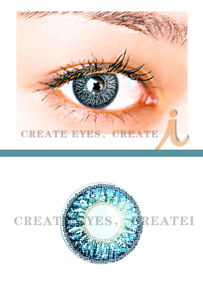 Aqua Triple Colored Contacts (PAIR)