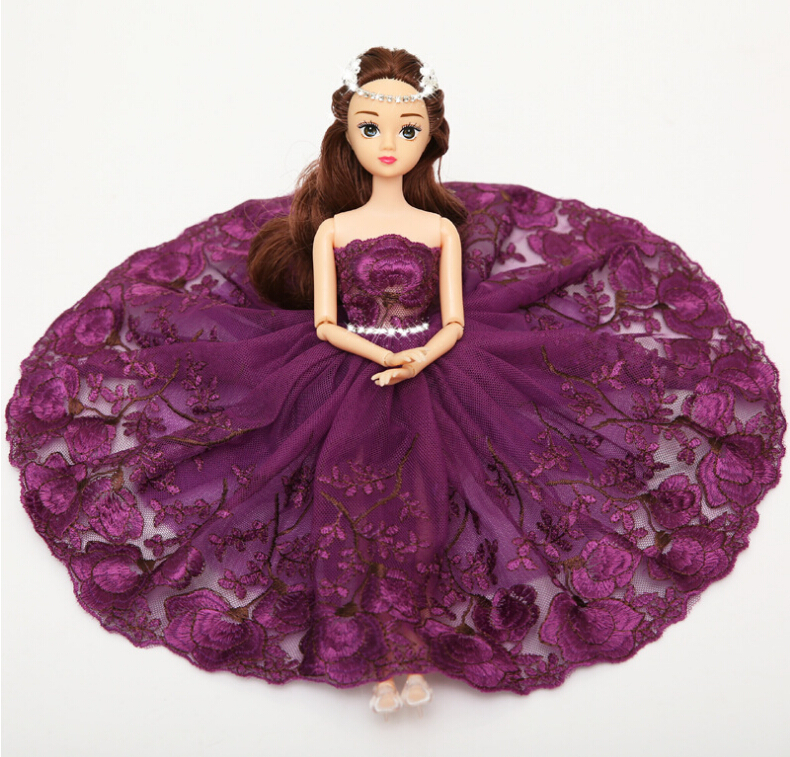 Noble Barbie Wedding Dolls For Car Decoration