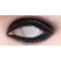 Blind (Unclear Vision) Halloween Contacts - Pair