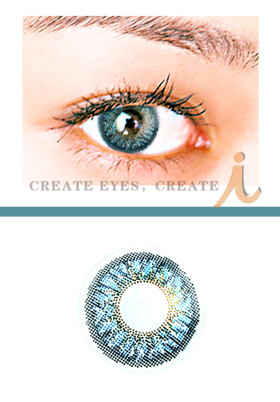 Blue Triple Colored Contacts (PAIR)