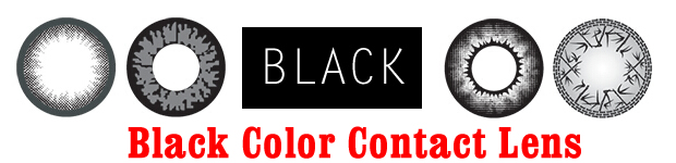 Black Color Contact Lens