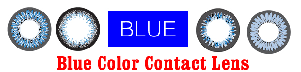 Blue Color Contact Lens