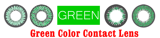 Green Color Contact Lens