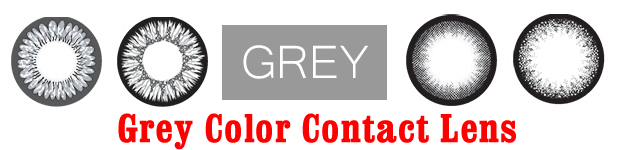 Grey Color Contact Lens