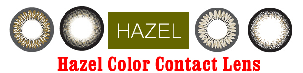 Hazel Color Contact Lens