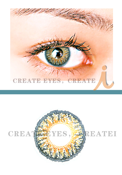 Hazel Triple Colored Contacts (PAIR)