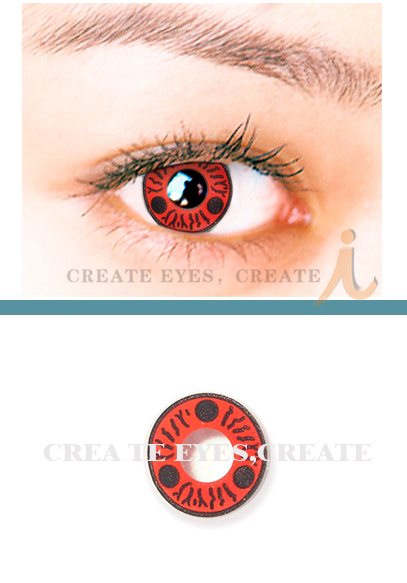 Itachi Anime Cosplay Contacts (PAIR)