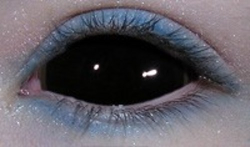 e5336402181 Black Full Eyes Sclera Contacts (PAIR) Cheap Full All Black Sclera ...