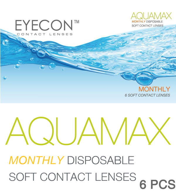 EYECON 38% Monthly Disposables 6 PCS