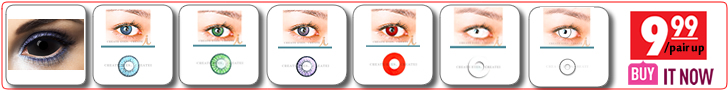 starting at $9.99 Colored Contacts