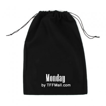 Working Days Nylon Shoe Bags with Drawstring ( 5 PCS )