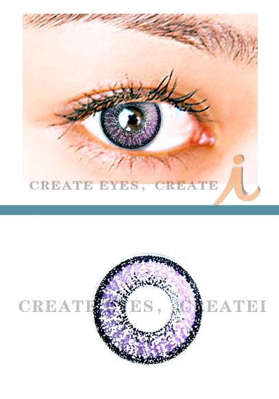 Violet Double Colored Contacts (PAIR)