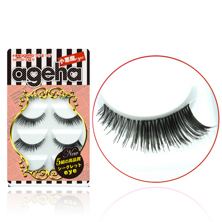 Little Devil ageha Japanese False Eyelashes Five Pairs W001