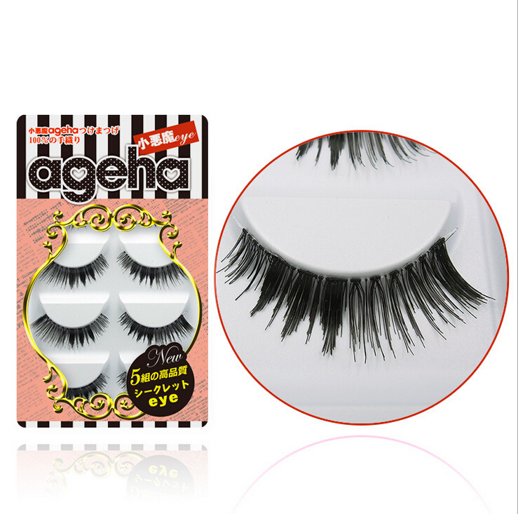 Little Devil ageha Japanese False Eyelashes Five Pairs W002