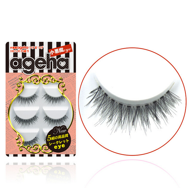 Little Devil ageha Japanese False Eyelashes Five Pairs W003