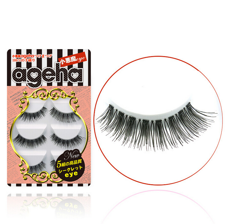 Little Devil ageha Japanese False Eyelashes Five Pairs W004