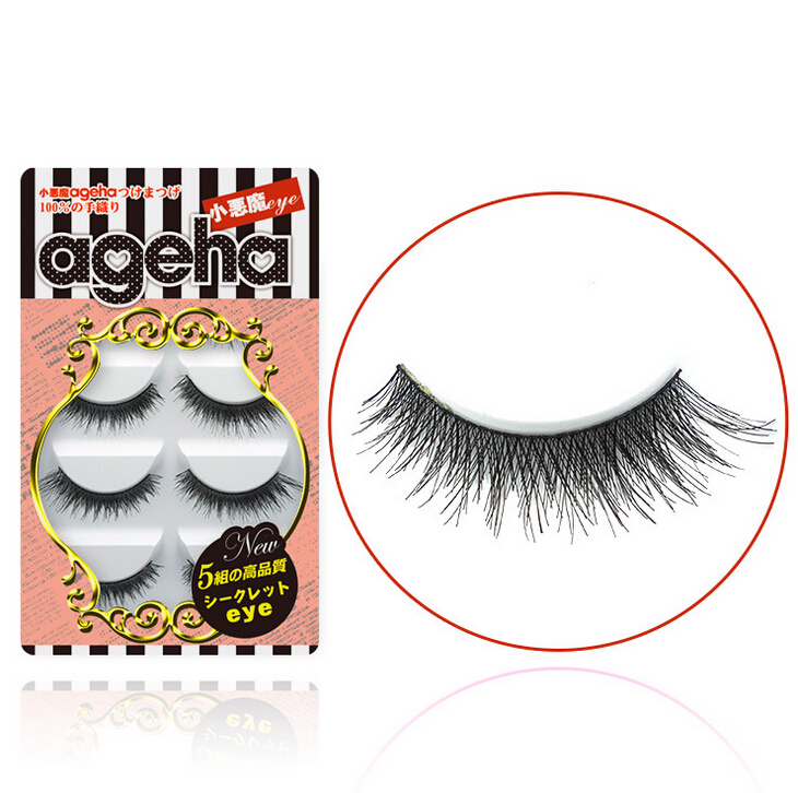 Little Devil ageha Japanese False Eyelashes Five Pairs W005