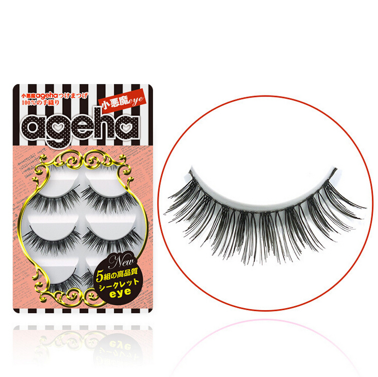 Little Devil ageha Japanese False Eyelashes Five Pairs W006